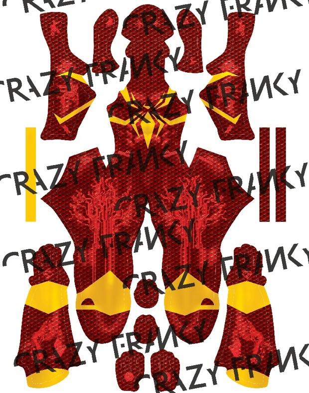 Iron Spider MARK III pattern