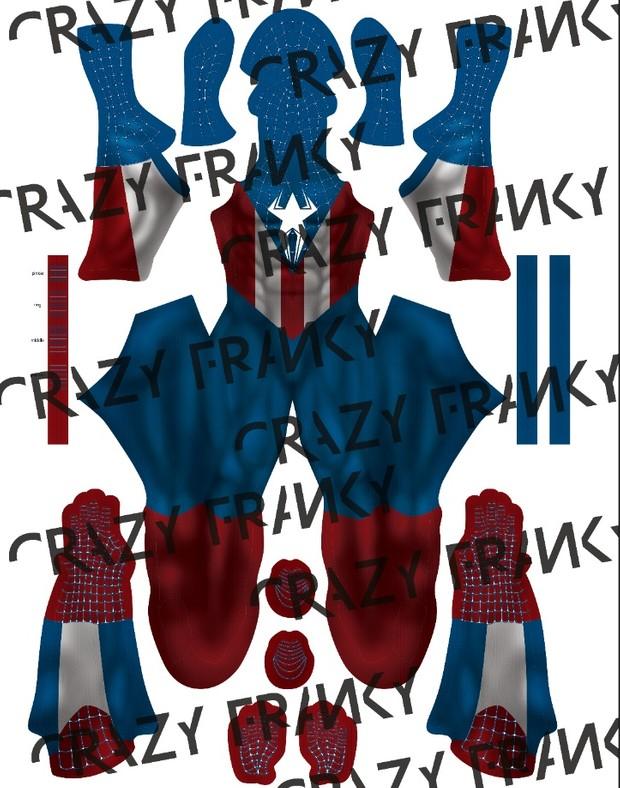 Captain Spider V1 pattern