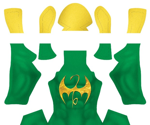 IRON FIST V1 pattern