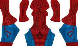 Spider-Man Mangaverse V1 pattern (Short Sleeve)