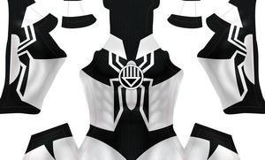 (CUSTOM) Black Lantern Spidey pattern