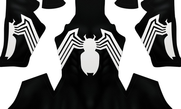 BLACK SYMBIOTE V1 pattern