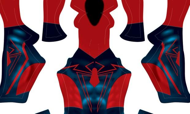 Unlimited Spider-Man V2 pattern