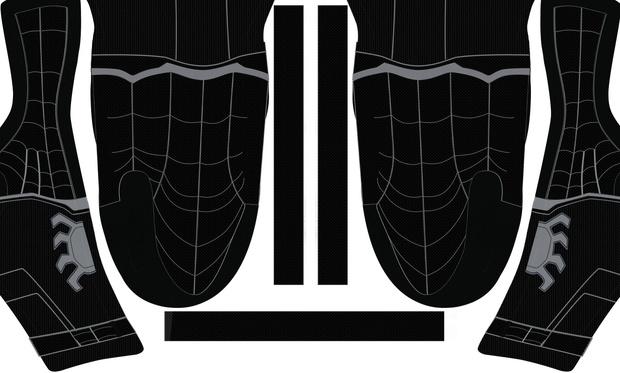 (FREE) Black Civil War Spider-Man pattern
