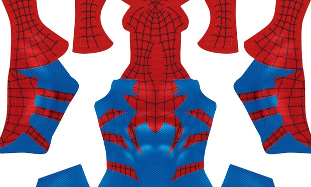 (Bright Version) Spider-Man HOUSE OF M  pattern