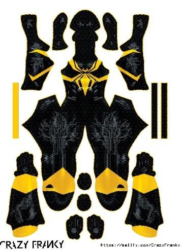(CUSTOM) Black Iron Spider pattern