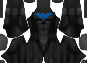Nightwing V1 pattern