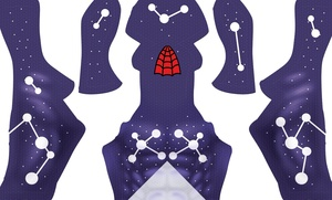 Cosmic Spider-Man V2 (Purple) pattern