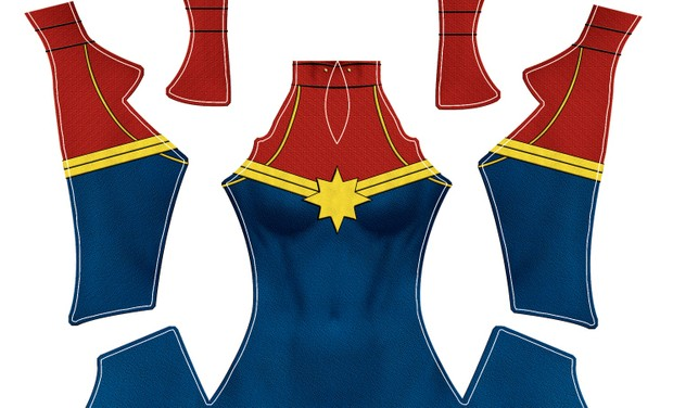 Captain Marvel pattern