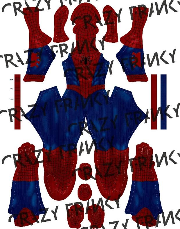 Disney XD Ultimate Spider-Man V2 pattern
