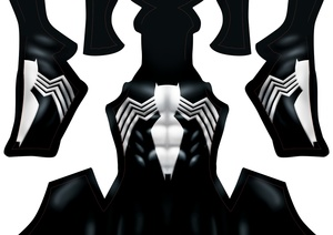 Back In Black pattern