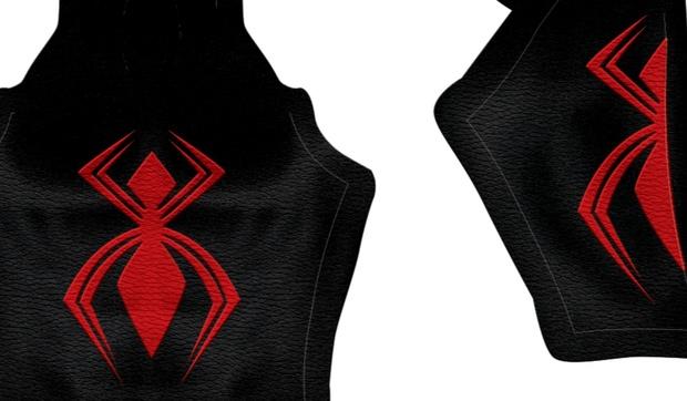 New Comic Spider-Man (Textured) pattern