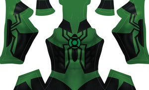 (CUSTOM) Green Lantern Spidey pattern