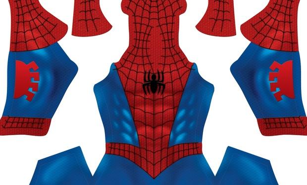 Classic Spider-Man pattern