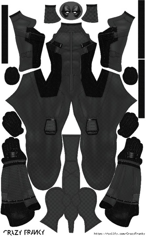 (FREE) Deadpool X-Force (Movie pattern)