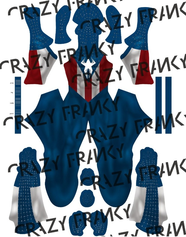 Captain Spider V2 pattern