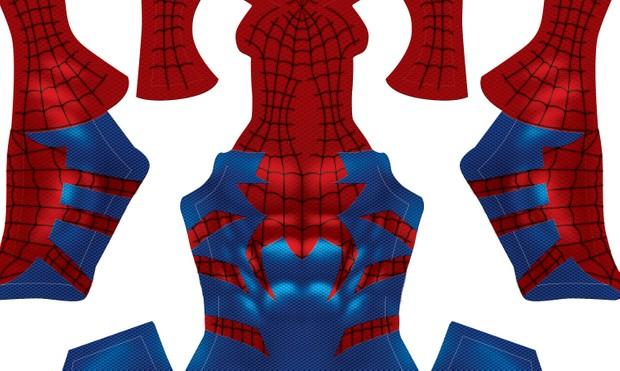 Spider-Man HOUSE OF M pattern