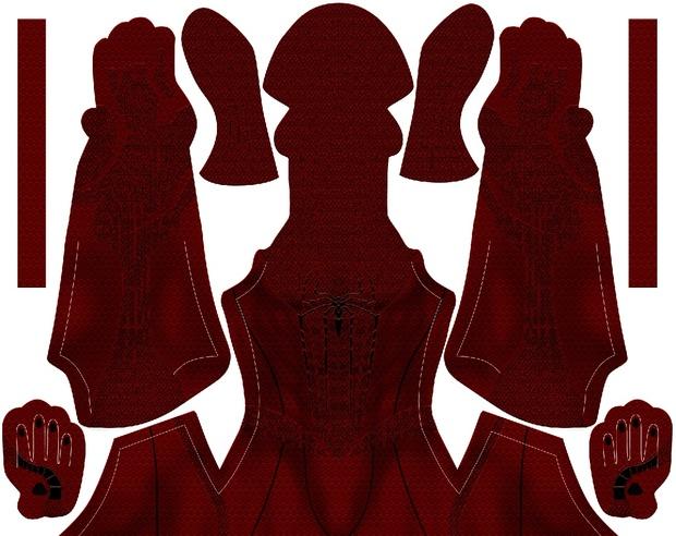 (DARK) Scarlet TASM Hybrid pattern