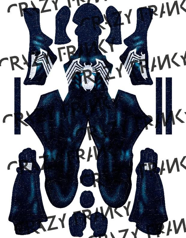 BLACK SYMBIOTE V3 pattern (Blueish)