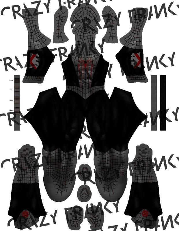 (CUSTOM) XForce Spider-Man pattern