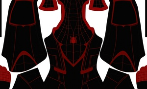 (FREE) Miles Morales Civil War V2 pattern