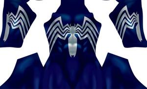 Symbiote  V2  (Blue) pattern