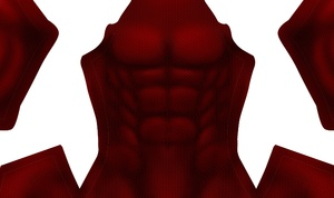 (DARK) Scarlet Spider Muscle Base pattern