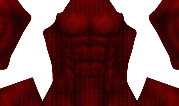 (DARK) Scarlet Spider Muscle Base pattern