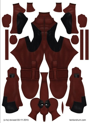 Deadpool Movie pattern by Ken Landrum