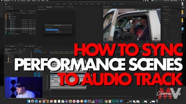 How To Sync Performance Scenes to Audio Track