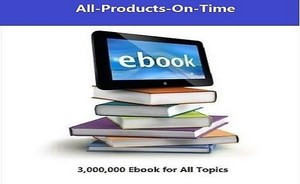 3 Million PLR Ebooks Collection and Articles | With Master Resell Rights | PDF