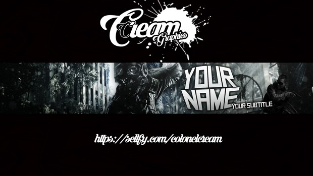 [Custom] Multi Use Gaming Banner- ColonelCream Graphics