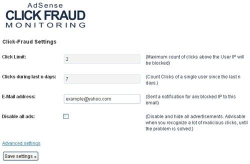 Adsense Click Fraud 2018 - Premium ( Impedir Bloqueos )