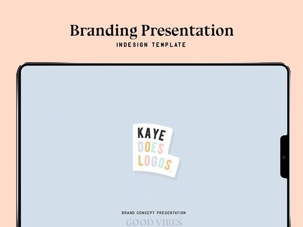 Brand Presentation template