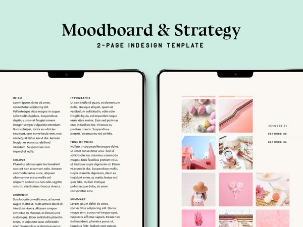 Moodboard & Strategy Template