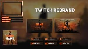 Full Twitch Rebrand