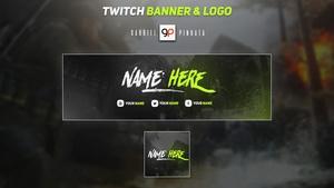 Twitch Banner & Logo