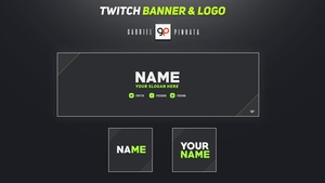 Free Twitch Banner & Logo