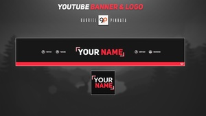 Free YouTube Banner & Logo