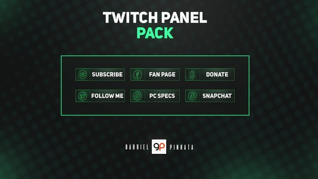 Twitch Panel Pack