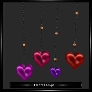 Heart Lamps Mesh