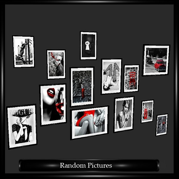 Random Picture Frames Mesh
