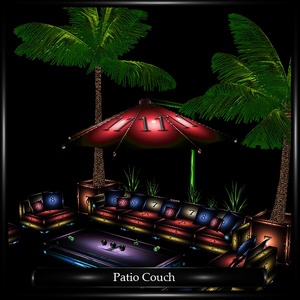 Patio Couch Mesh