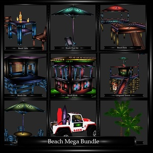 Beach Mega Bundle  WITH RESELL RIGHTS