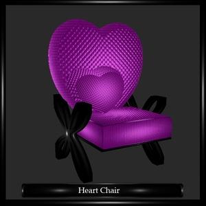 Heart Chair Mesh