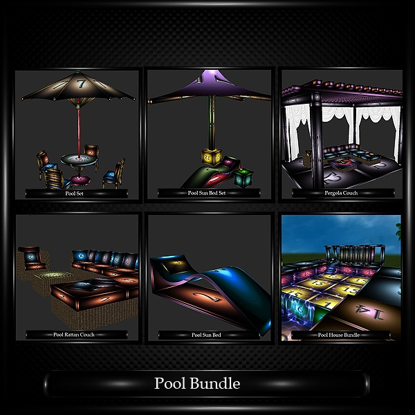Pool House Bundle WITH RESELL RIGHTS