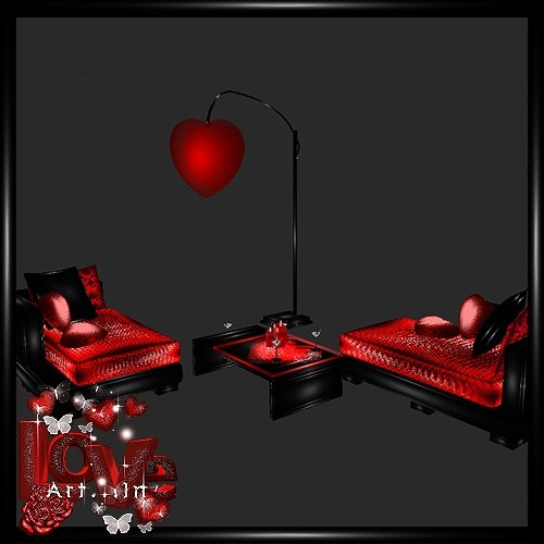 Love Couch 1 Mesh