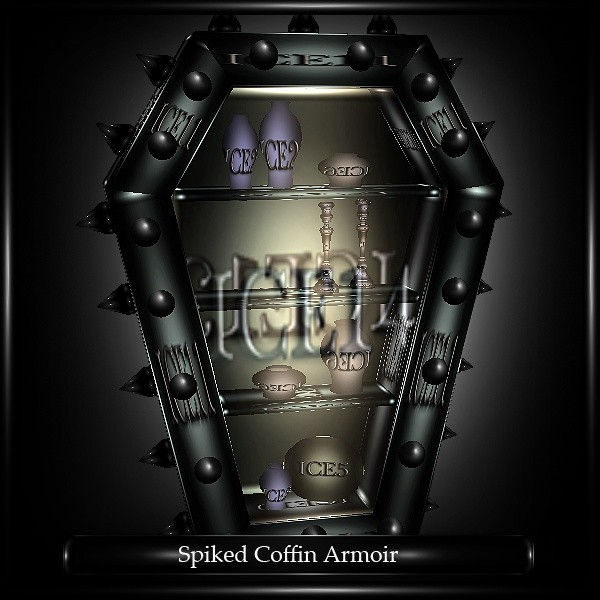 Spiked Coffin Armoir Mesh