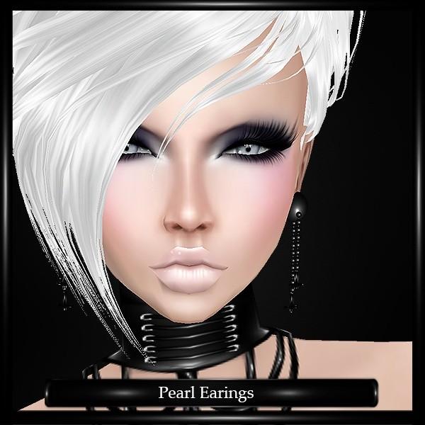 Pearl Earings Mesh