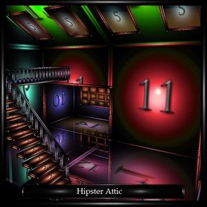 Hipster Attic Room Mesh